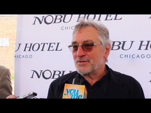 Robert De Niro On Nobu Hotel And Restaurant Opening