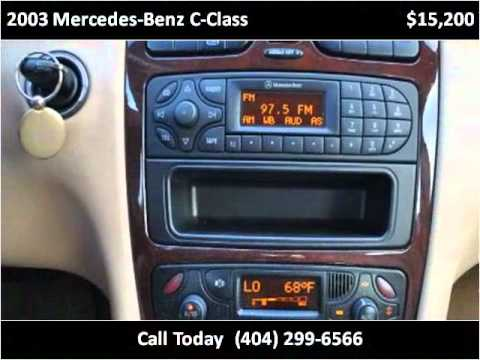 2003 Mercedes-Benz C-Class Used Cars Decatur GA