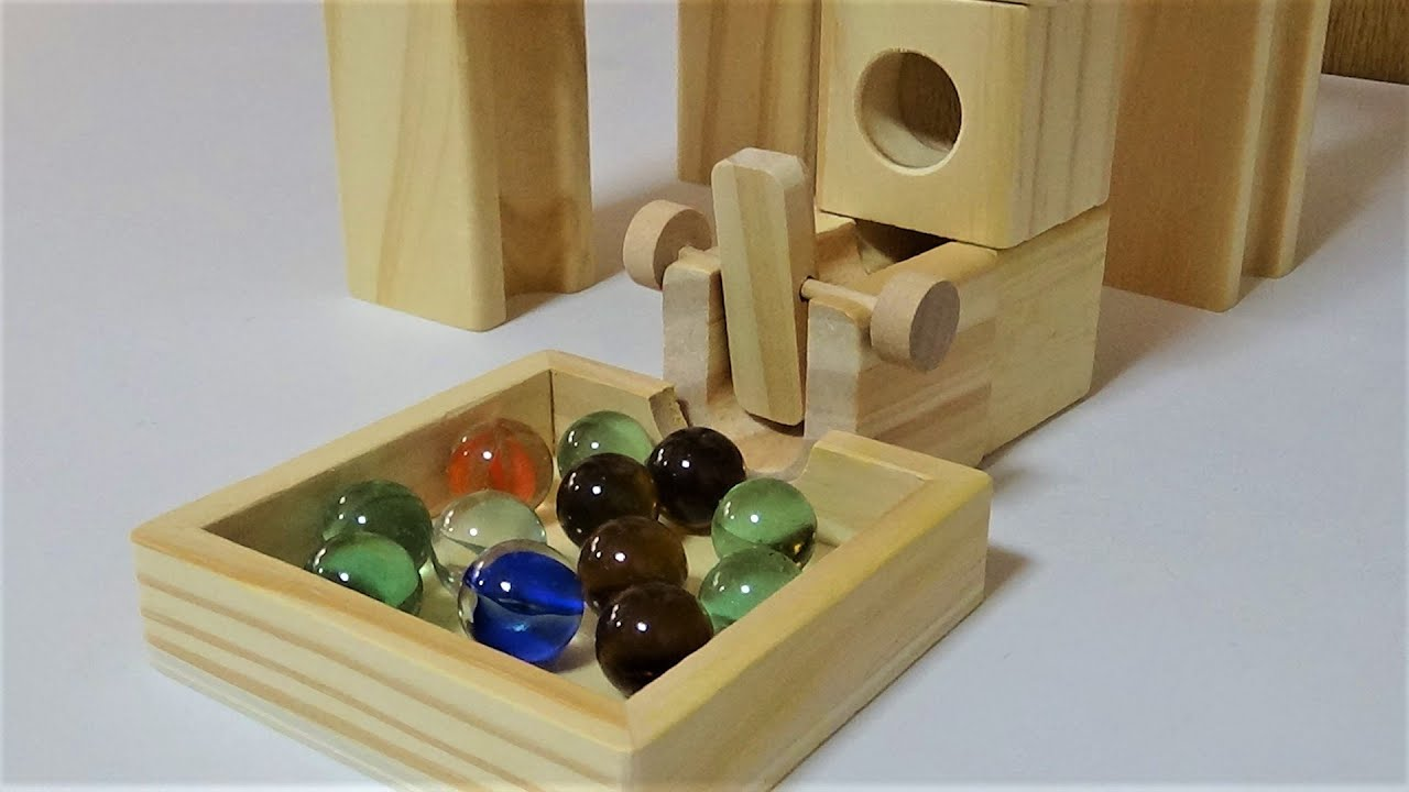 Marble Run ASMR ☆ Healing video of assembling a wooden slope.