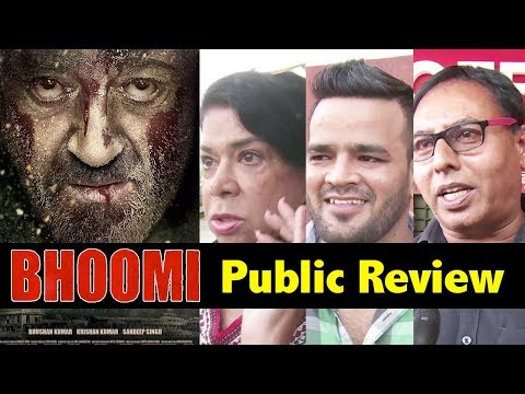 Bhoomi Movie Public Review   Sanjay Dutt   First Day First Show   Bhoomi Movie Review