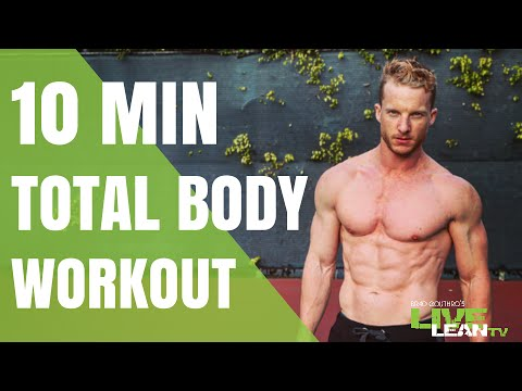 The 10 Minute No Weights, No Problem Workout | LiveLeanTV