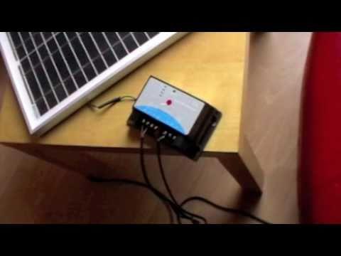 Solar Battery: Maplin Solar Battery Charger