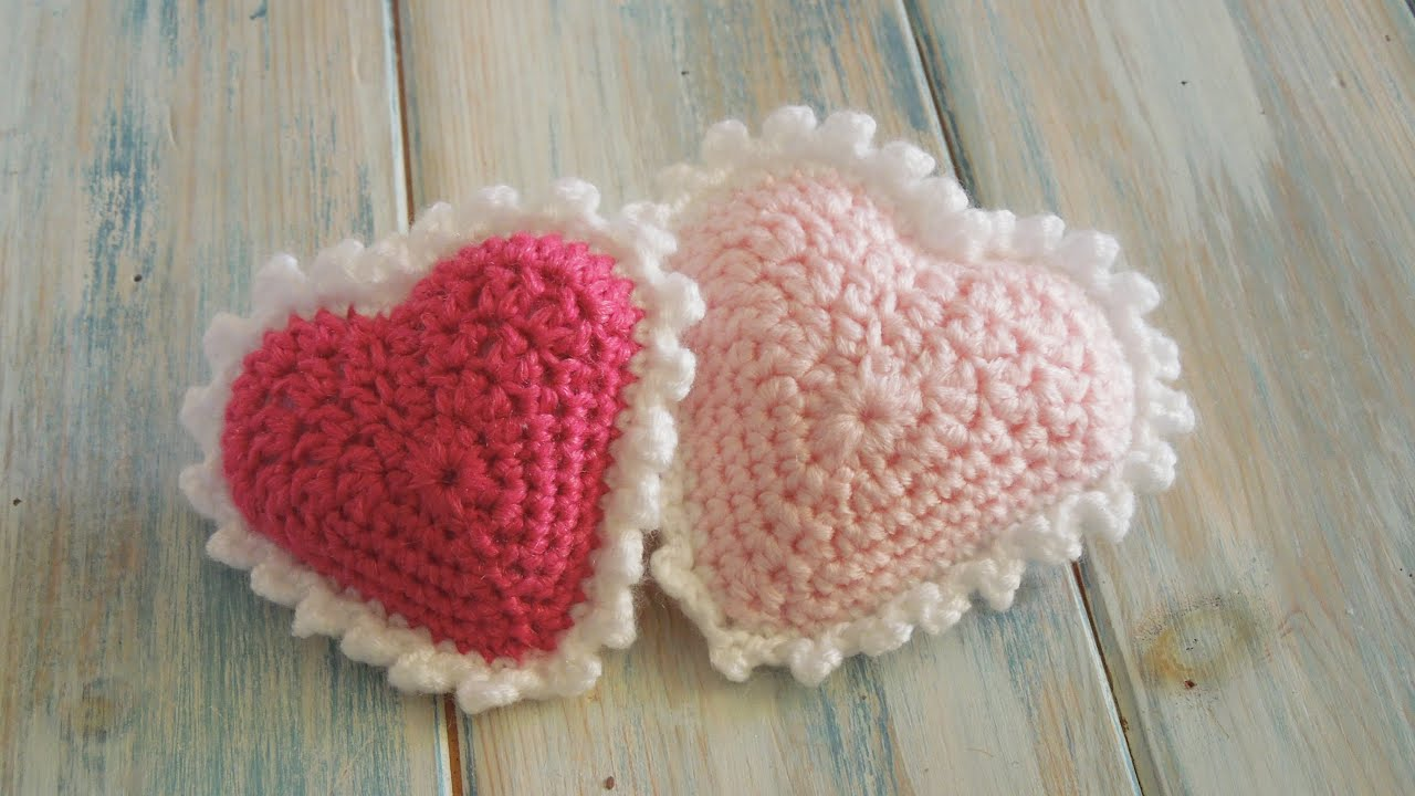 Crochet how to crochet a padded picot heart valentine special crochet how to crochet a padded picot heart valentine special youtube bankloansurffo Images