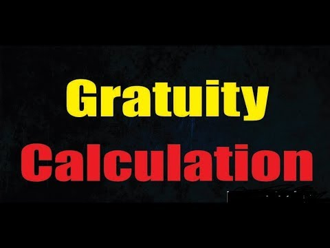 How An Employee Get Gratuity | Gratuity Calculation
