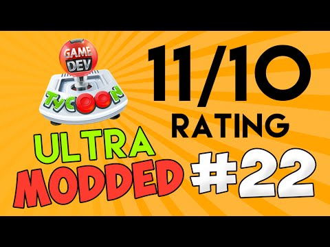 Game Dev Tycoon Ultra Modded #22 - 11/10 RATING + $2 BILLION