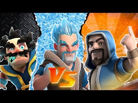 Thumbnail: WHO IS BETTER!?!🔸WIZARD vs. WIZARD Comparison🔸Clash of clans
