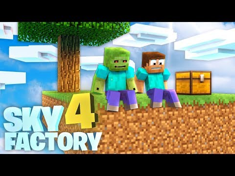DARAUF habe ich GEWARTET! - Sky Factory 4 #01