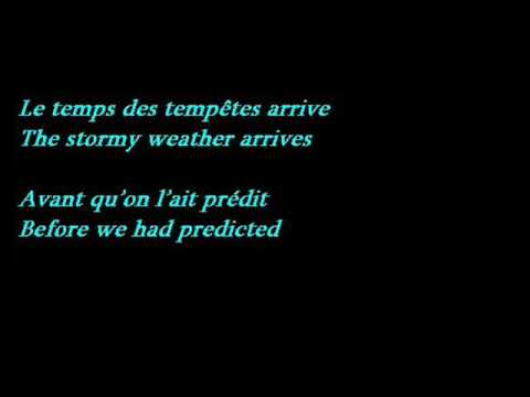 Calogero - C'est Dit (Lyrics - French / English Translation)