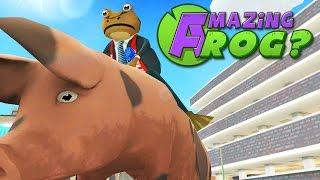 Amazing Frog - RUNNING FOR MAYOR - FROG ELECTION 2015 - PC Gameplay Part 16 | Pungence
