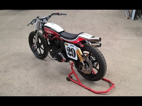 Sportster Hooligan Tracker Custom By BCKustoms