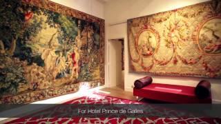 The restoration of a Maison de Luxe, Prince de Galles Hotel in Paris