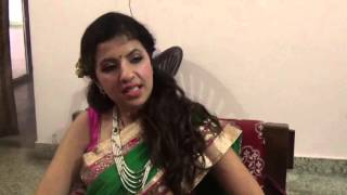 khyati singh in Film Promotion