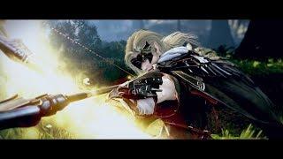 Black Desert Online - Archer\Лучник. Демонстрация геймплея.