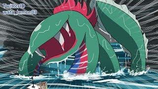 【MOTHER2/EARTHBOUND Fan anime】クラーケン戦【VS Kraken】