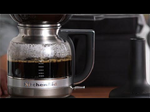 Siphon Coffee with the KitchenAid Siphon Coffee Brewer