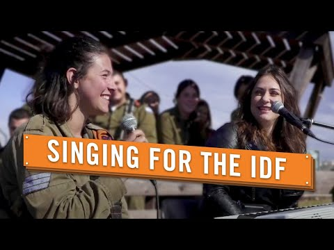 Israeli Singer Performing With IDF Female Combat Commander