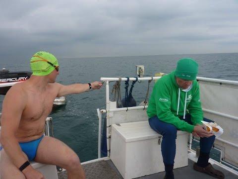 Ricks Two way English Channel Relay Swim- WiFi Chunder