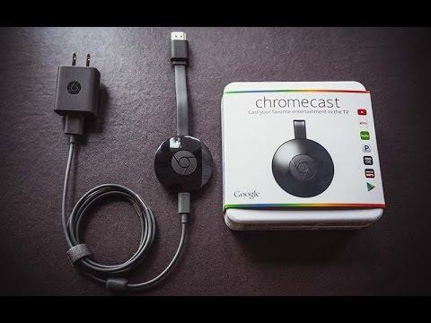 Instalação e Configuraçao - Google Chromecast 2