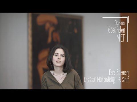 Öğrenci Gözünden MEF Üniversitesi / Esra Sözmen - Endüstri Mühendisliği