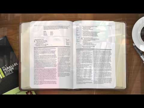 NLT Parallel Study Bible' from Tyndale House - YouTube