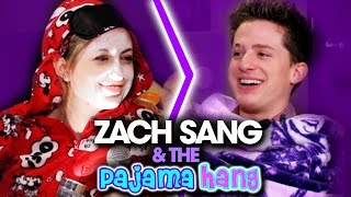 Zach Sang & The Gang had a sleepover with Charlie Puth and talked Selena Gomez, making out and more!