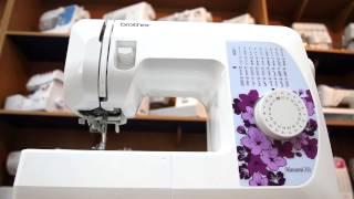Brother Hanami 37S - видео обзор швейной машинки среднего класса(Узнайте актуальную цену и отзывы о Brother Hanami 37S на сайте - http://goo.gl/Mog4fg Доставка швейной машинки по всей Украине..., 2015-08-15T08:04:32.000Z)