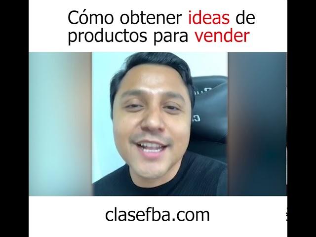 Cómo obtener ideas de productos para vender