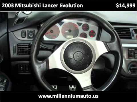 2003 Mitsubishi Lancer Evolution available from Millennium A
