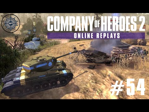 Company of Heroes 2 Online Replays #54 - Heavy Cavalry Commander