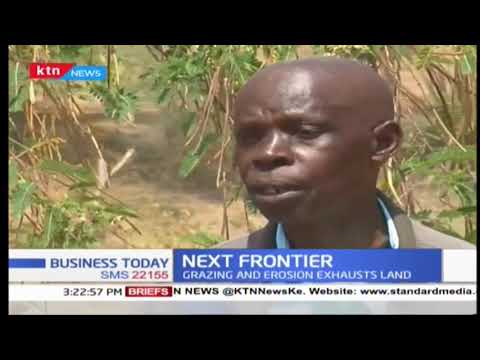 Yatta farmers trained by world vision in grass growth | Next Frontier