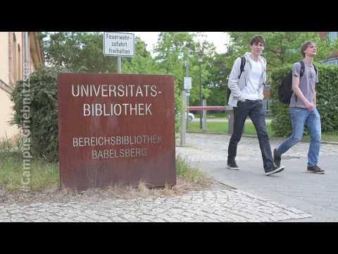 Uni Potsdam Campus Griebnitzsee - Unsere Bibliothek