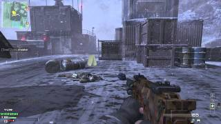 Call of Duty - Modern Warfare 3: M.O.A.B. with MP7 on Outpost