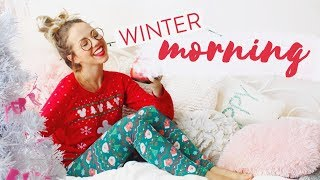 COZY WINTER MORNING ROUTINE | 2017 ✨