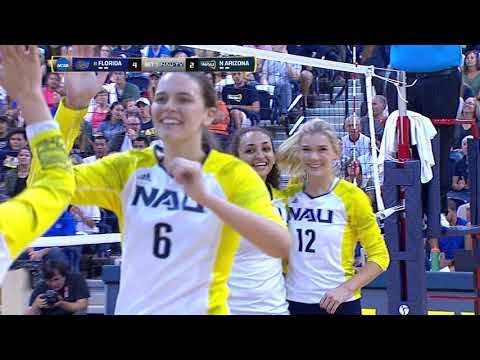 NAU Volleyball vs. No. 8 Florida Full Broadcast