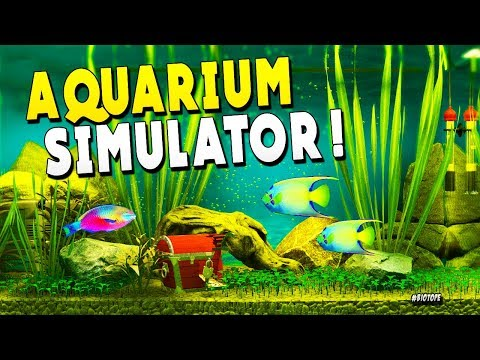 FIRST LOOK : Built An Aquarium And No Fish Were Harmed  - Biotope Aquarium Simulator