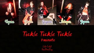Watch 4minute Tickle Tickle Tickle video