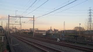 西武ニューレッドアロー カナヘイラッピング電車