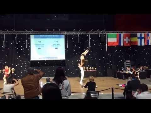 Miha Japelj - Karolina Gumilar, B class 1/2 f, World cup, France