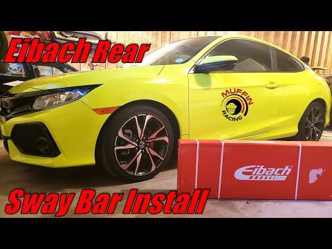 10th Gen Civic Si Eibach Rear Swaybar Install