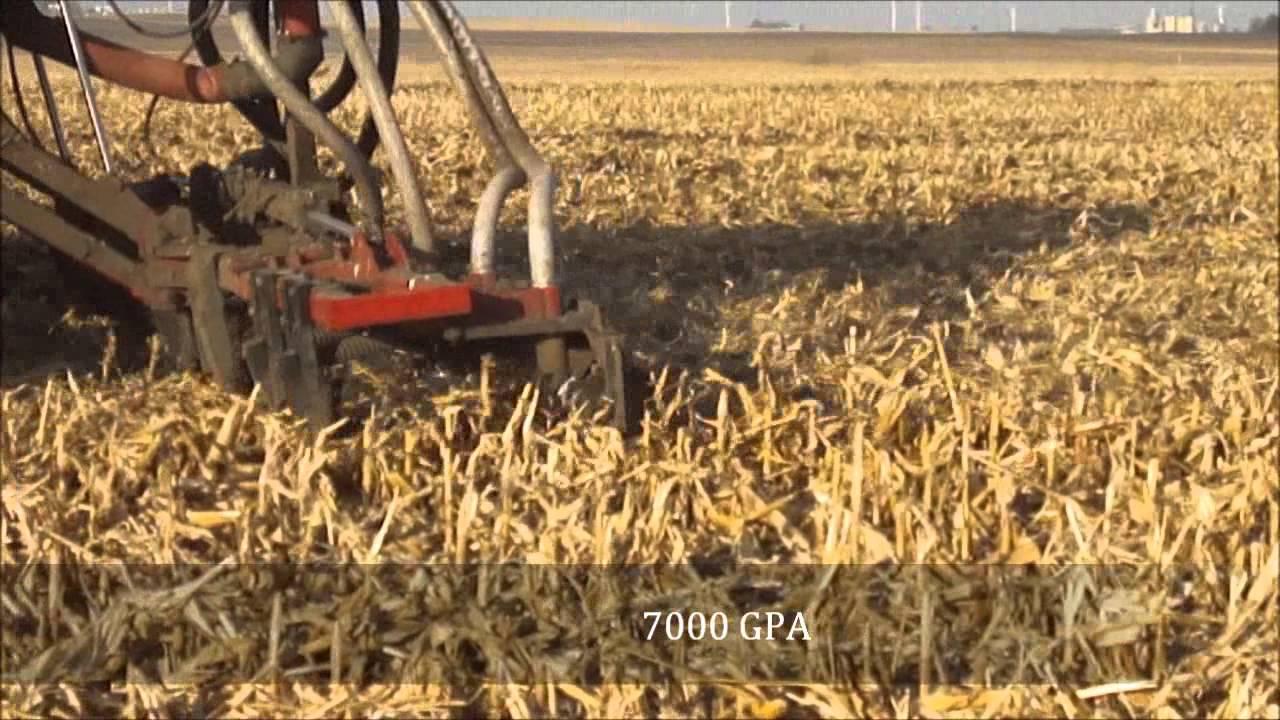 Iowa Falls, Iowa Dragline Equipment & No-Till Manure