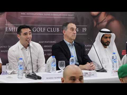 MTK GLOBAL & ROUND 10 BOXING - *THE FIGHT - DXB UNCOVERED* - FULL PRESS  CONFERENCE (DUBAI) -