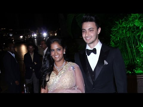 Salman Khan's Sister Arpita Khan Wedding Reception In Mumbai- FULL VIDEO