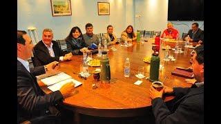 Cuarta reunión del gobernador Valdes con Intendentes