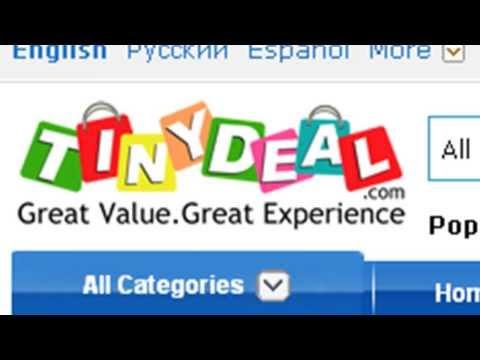شرح كيفية تسجيل والربح نقاط من موقع Tinydeal