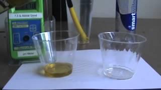 Alkaline Water Machine | 11.5 Alkaline Water Emulsifies Oil