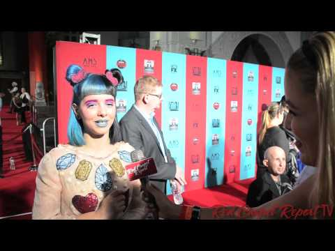 Melanie Martinez at the American Horror Story: Freak Show Premiere #AHSFREAKSHOW