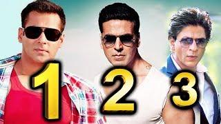 Akshay Kumar STEALS Shahrukh's Position, Salman Khan On TOP