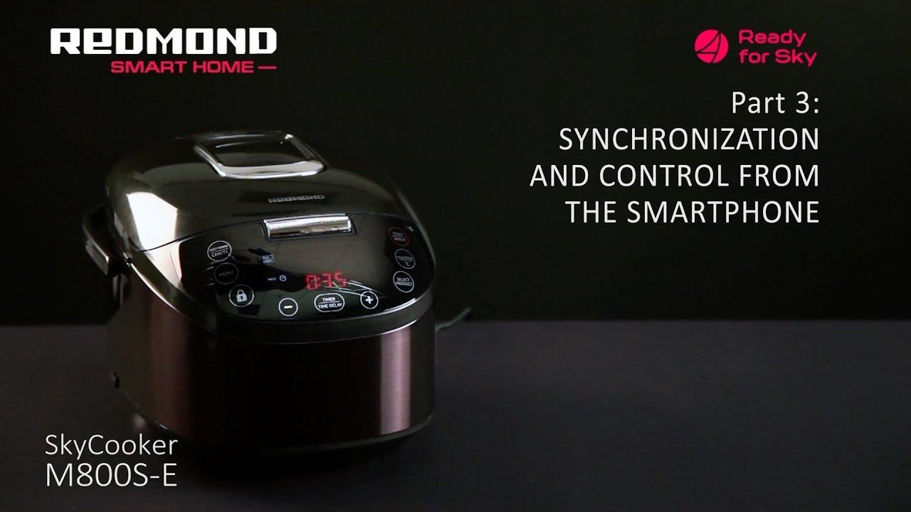 Мультиварка Redmond SkyCooker RMC-M800S - Обзор. Комплектация .