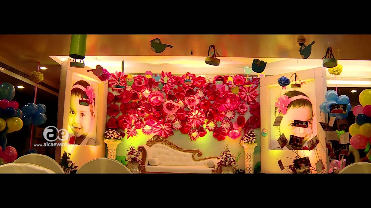 Ahaana first birthday party dry flowers theme decoration ahaana first birthday party dry flowers theme decoration aicaevents izmirmasajfo