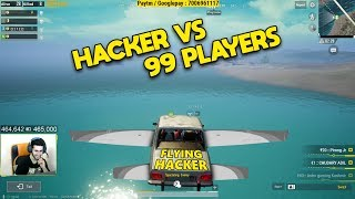 FLYING CHEATER WHO KILLED EVERYONE IN HIS SIGHT | PUBG MOBILE ROWDY GAMING